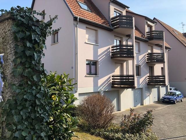 Haguenau, grand 2 pièces de 63m² avec garage double