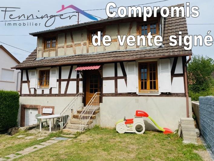 maison vendue Fenninger immobilier