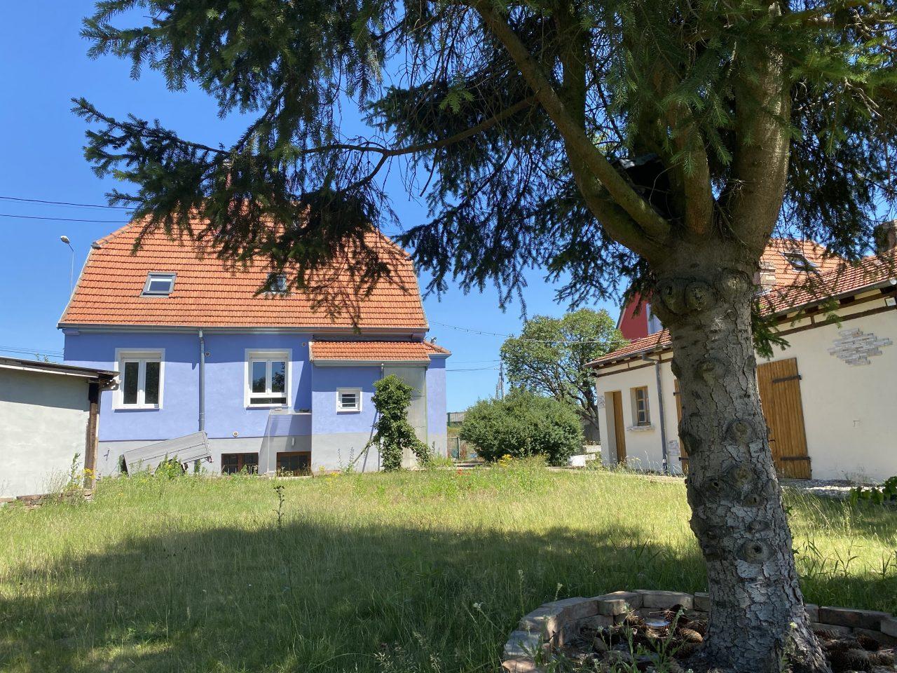 Haguenau, maison 6 pièces sur 6 ares. Vidéo disponible