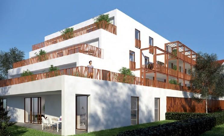 Haguenau, appartement neuf F3, terrasse, garage