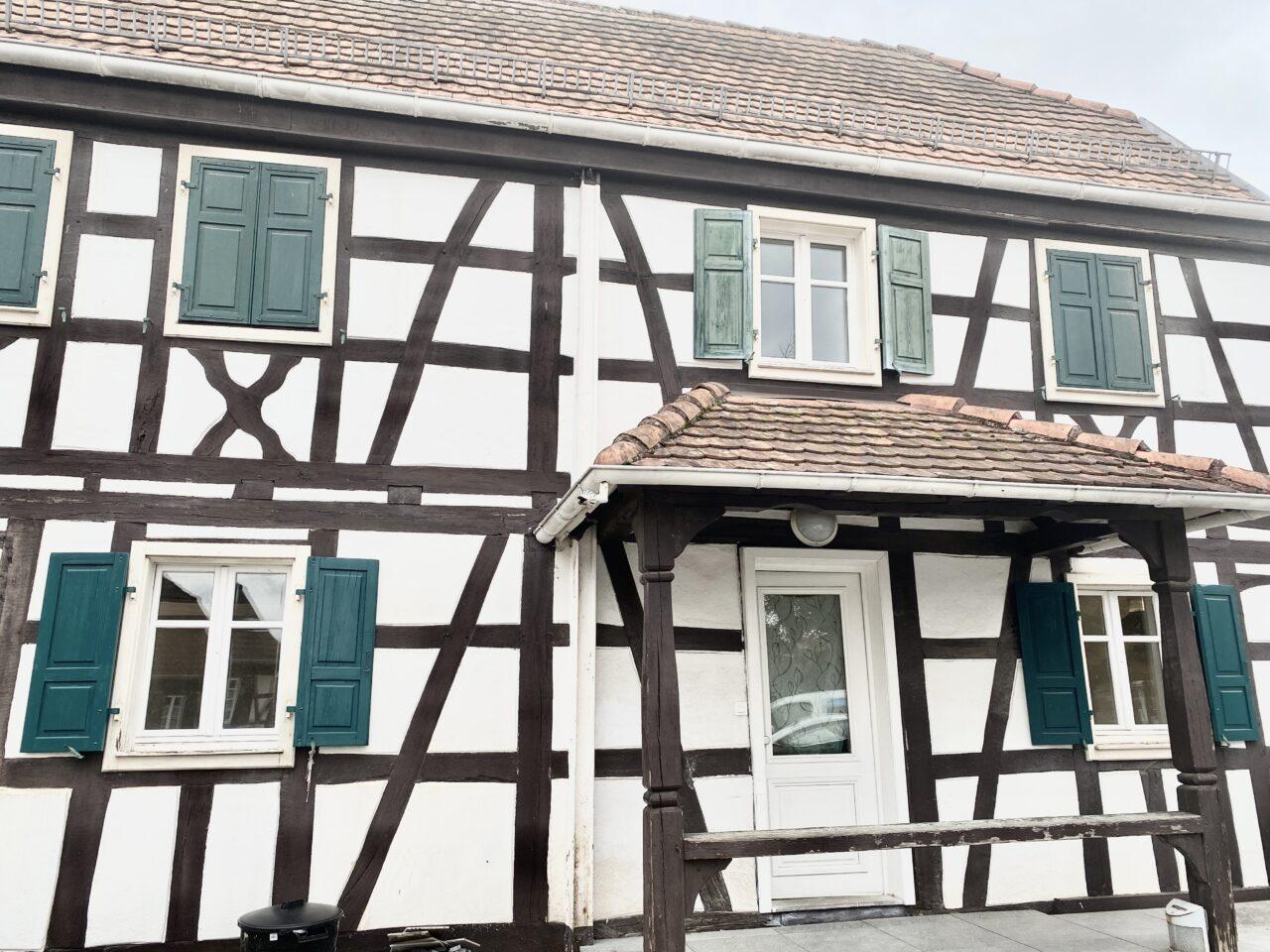 A louer à Betschdorf, belle maison alsacienne