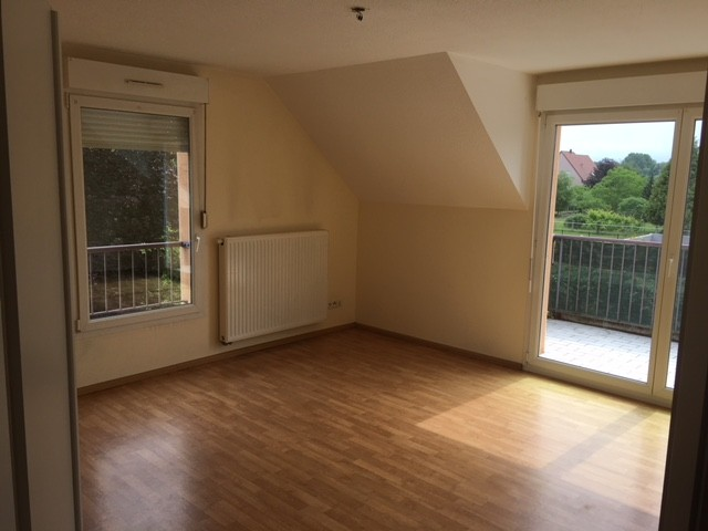 Rountzenheim à louer F3, terrasse, garage