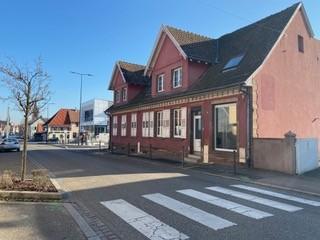 A louer à Schweighouse local 45m² avec vitrine, en rez de chaussée