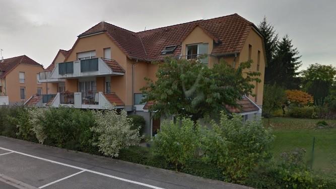A louer à Rountzenheim F3, terrasse, garage