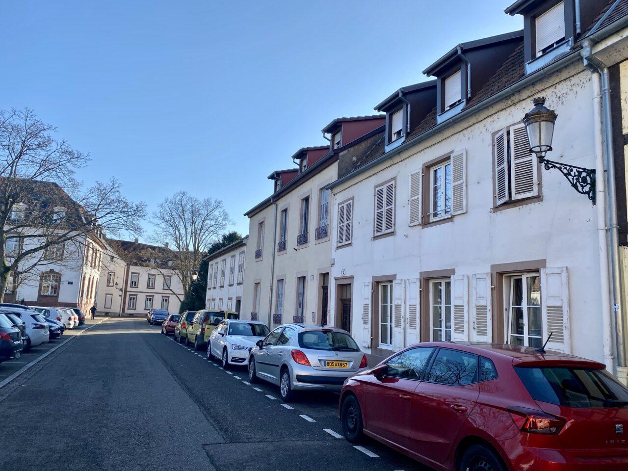 Haguenau, immeuble de 3 logements de type F2 pour investisseurs