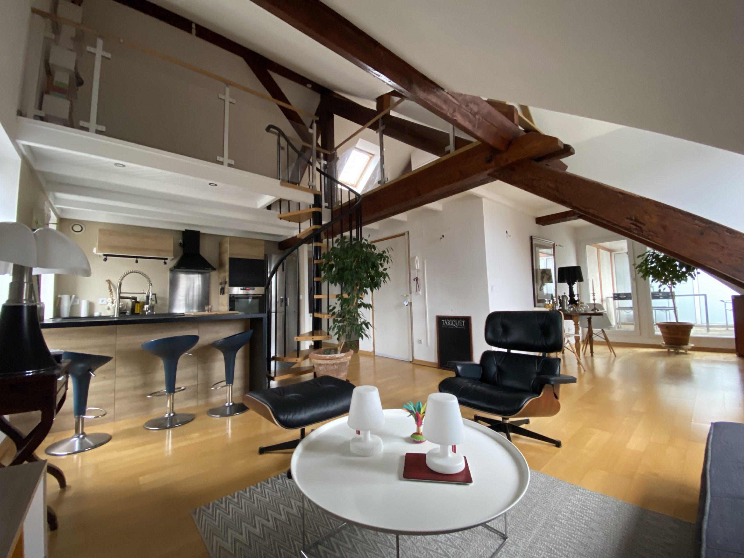 haguenau vente duplex cuisine salon séjour