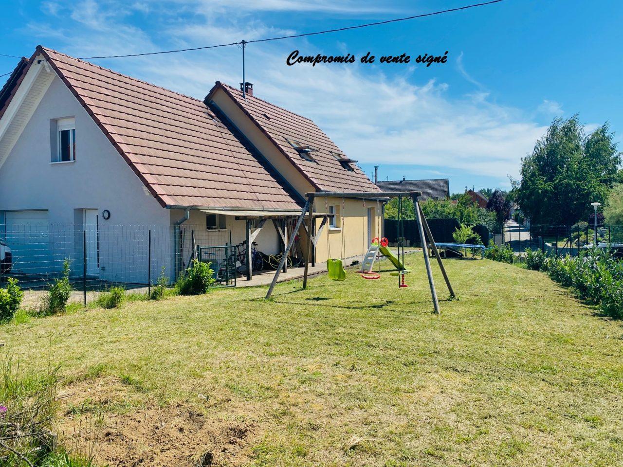 A Schirrhein, belle maison de 137m2 sur 5,2 ares. Video disponible sur Youtube