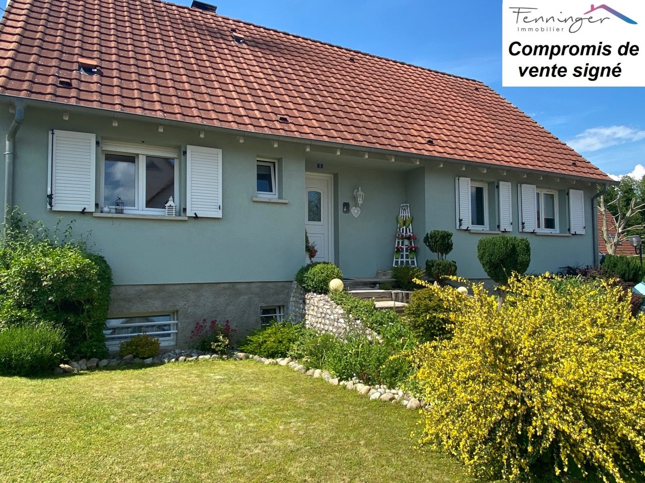 Mertzwiller, très belle maison 135m2 sur 5,78 ares.