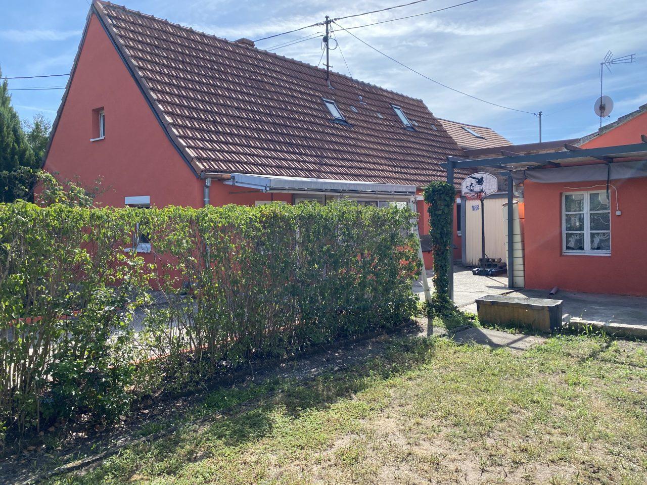 Haguenau, maison 93m2 sur 3,16 ares au calme. Vidéo disponible