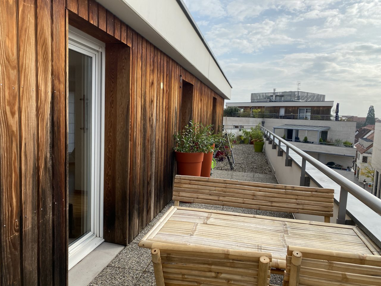 Haguenau, très bel attique de 61m2 avec terrasse de 36m2. Coup de coeur assuré.
